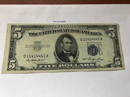 United States $ 5.00 banknote 1953 - $18.95