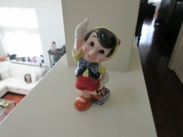 Walt Disney Productions ,  PINOCCHIO , Ceramic Figurine , China , Vintage  - $19.80