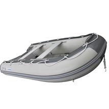 10.8 ft Inflatable Boat Raft Fishing Dinghy Tender Pontoon+ FREE Launching wheel image 6
