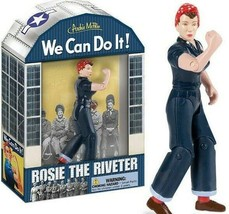 Rosie the Riveter Action Figure We Can Do it WLM Collectible Historical ... - $11.09