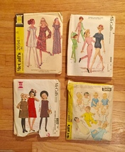 Vintage Sewing Patterns: McCalls, Simplicity, Kwik-Sew, Butterick: 60s and 70s image 3