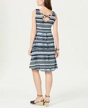 Style & Co Size 0X Dress Women Tidal Dye Printed Cross-Back A-Line Dress... - $22.76