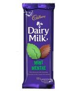 Dairy Milk Mint Chocolate Bar Full Size 100g CADBURY Canada - Fresh - $3.95
