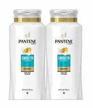 Pantene, Shampoo, with Argan Oil, Pro-V Smooth and Sleek Frizz Control, 25.4 fl  - $23.52