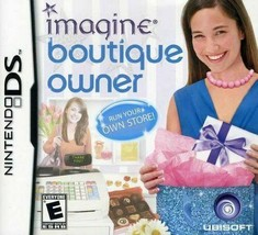 Imagine: Boutique Owner (Nintendo DS, *Cartridge Only*) Ships within 12 ... - $5.93