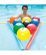 Swim Way 8IN Blow-Up Billiards Inflatable Swimming Pool Water Game - $21.77