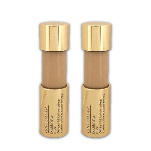 Estée Lauder Double Wear Nude Cushion Stick Radiant Makeup - 1W2 Sand LOT OF 2 - $103.95