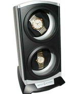 New  Diplomat-Automatic-Economy-Double-Dual-Watch-Winder-Tower-Silv... - $69.95