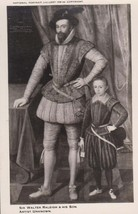 Sir Walter Raleigh & His Son Soldier Devon History London Art Painting P... - $9.99