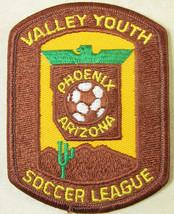Valley Youth Soccer League Phoenix Arizona Patch Emblem Travel Souvenir ... - $2.59