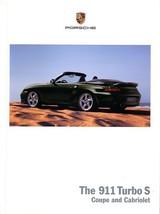 2005 Porsche 911 TURBO S sales brochure catalog US 996 - $15.00