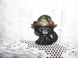 HALLMARK PIN HALLOWEEN BLACK CAT IN HAT VINTAGE - $15.98