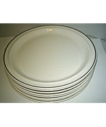 "4-pc set Royal Doulton TING Brown Dinner Plates 10 1/2"" Lambethware LS1012 - $37.99"