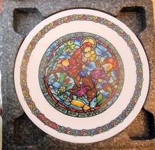 "Vintage Limoge Plate Christmas ""Flight into Egypt"" 8.25"" CO All Paperwor... - $14.00"