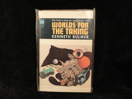 Worlds For The Taking Paperback Book Ace F396 Kenneth Bulmer 1966 - $2.49