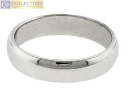 Men's Genuine Tiffany & Co. Platinum 6mm Wedding Band Ring - $863.98