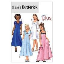 Butterick Patterns B4385 Girls'/Girls' Plus Jacket and Dress, Size PLS (10 1/2 - - $11.76