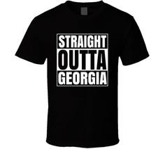 Straight Outta Georgia College National Football T Shirt - $18.49+