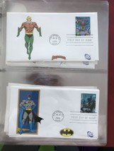 Complete set of 20 DC Comics USPS First Day Issue 2006 Stamps - $396.00