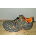Merrell ML-B Trail Chaser Boys Hiking Outdoor Shoes Orange Gray Size You... - $44.54