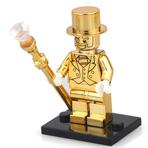 Unbranded Mr Gold Minifigure Series Collectable Fits Lego UK Seller - $6.88