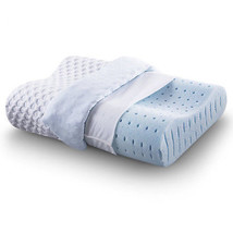 Sleep Ventilated Memory Foam Contour Pillow Wave Design AirCell Technolo... - £31.99 GBP