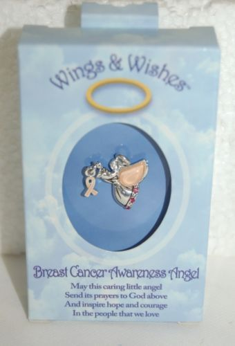 DM Merchandising Wings Wishes WGWBCA Breast Cancer Awareness Angel