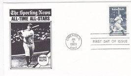 BABE RUTH #2046 CHICAGO, IL JULY 6, 1983 UNKNOWN CACHET D-589 - $2.98