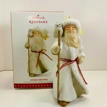 Hallmark Keepsake Ornaments Father Christmas 12th in The Series w/Winte... - $28.05