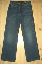 Calvin Klien Jeans Boys Size 10 Bootcut Denim Blue Jeans Casual School - $17.41