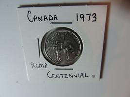 1973 RCMP Canadian Quarter coin A731 - $3.48