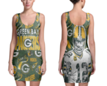 Green bay packers women sexy  bodycon fit dress thumb155 crop