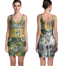 Green Bay Packers Women Sexy  Bodycon Fit Dress - $19.80+