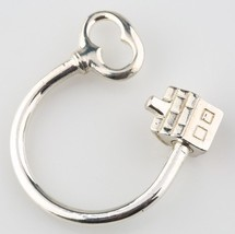 Tiffany & Co. Sterling Silver 925 House and Key Key Ring Retired Piece - $213.84