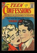 TEEN CONFESSIONS #2 1959-CHARLTON ROMANCE COMICS-RARE VG - $31.53