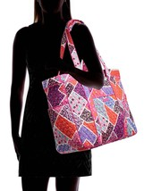Vera Bradley Signature Cotton Get Carried Away Tote, Modern Medley image 4