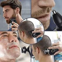 Men's Electric Razors Shaver for Bald Head,Rechargeable 5-in-1 Rotary Shavers Gr image 5