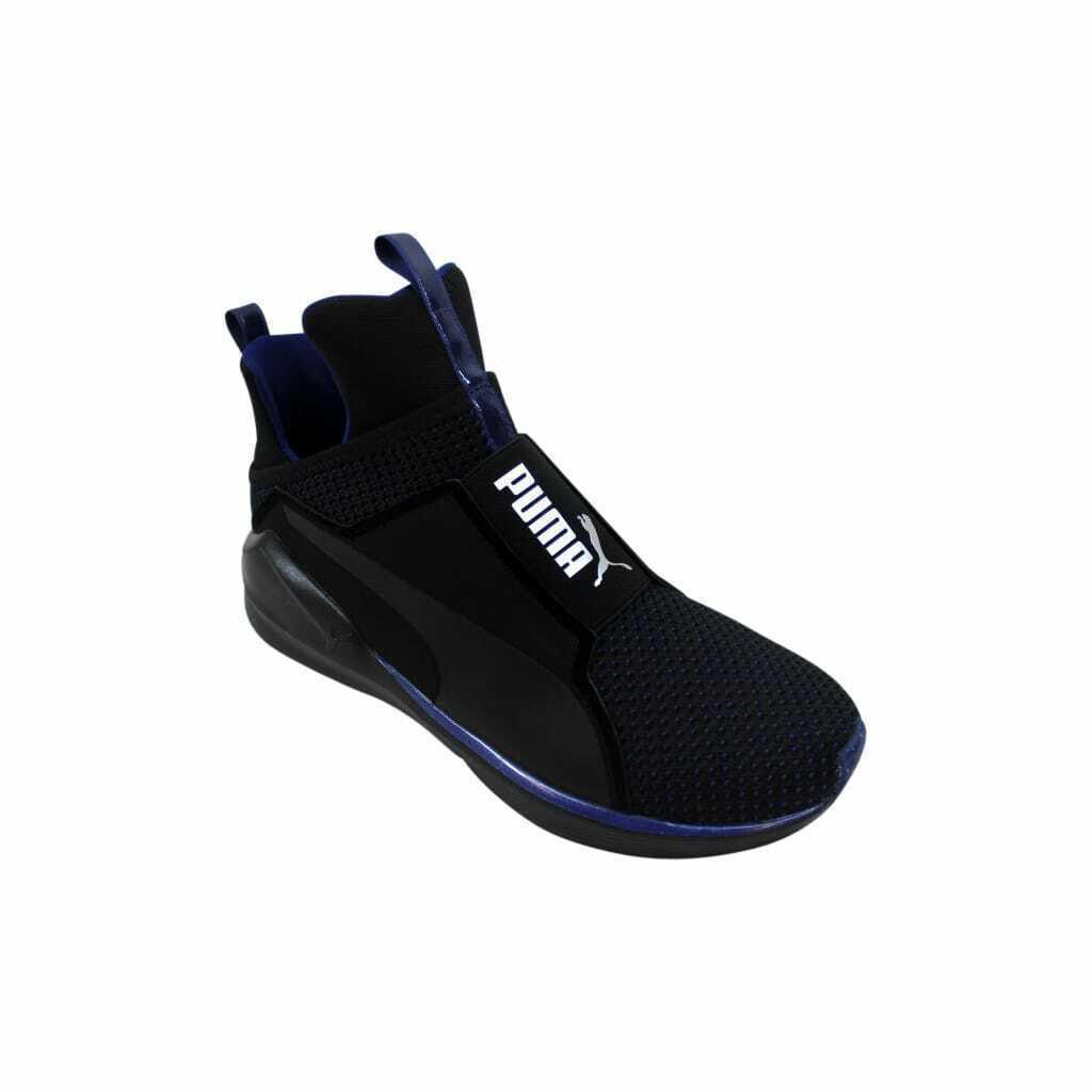 Puma Fierce Velvet VR Puma Black-Icelandic Blue 190348 02 Women's Size 7