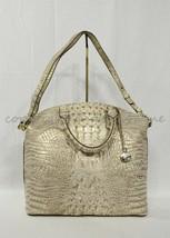 Brahmin Large Duxbury Leather Satchel/Shoulder Bag Sugar Cane Melbourne image 2