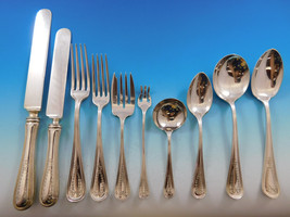 Commonwealth Engraved by Watson Sterling Silver Flatware Set 132 Pcs Dated 1910 - $6,900.00