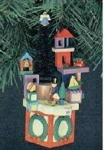 """Christmas NEW Enesco """"Toy To the World"""" Orna"""