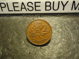 1967 CANADIAN CENT COIN    ****     >> COMBINED SHIPPING  - $1.73
