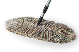 Sladust Wool Mop - Wooly Mammoth Dry Mop with Telescoping Handle - $49.95