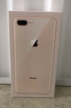 Lot of 2 Apple iPhone 8 Plus Boxes Only 64GB Gold and 64GB Silver - $23.36