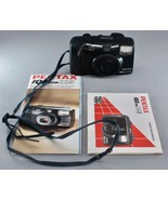Pentax IQZoom 115-S 35mm Point And Shoot Camera Tested with Manuals - $29.00