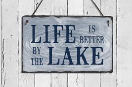 Lake House Sign. Lake House Decor. Outdoor Sign... - $36.95