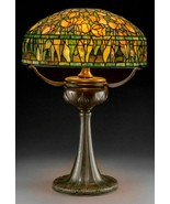 Tiffany Studios Leaded Glass and Bronze Tulip Table Lamp on Tyler Base - $90,000.00