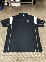 Chicago White Sox Reebok Black Polo Golf Shirt XL Good Condition - $13.85