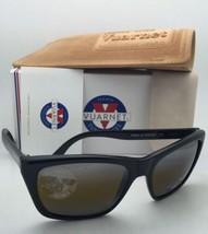 New VUARNET Sunglasses VL 0006 0001 Black Frame w/ SkiLynx Amber + Silver Mirror