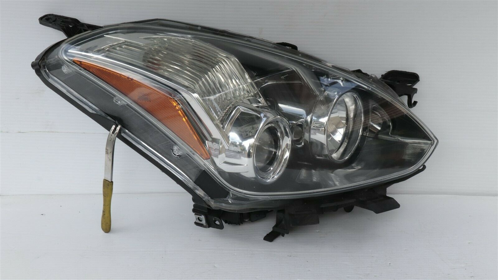 10-12 Nissan Altima Coupe HID Xenon Headlight Lamp Passenger Right RH - POLISHED